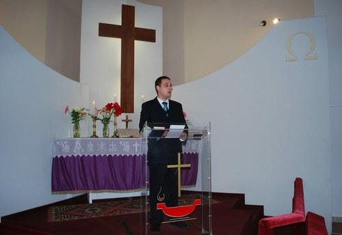 Asztalos Richárd lelkészjelölt szolgálata